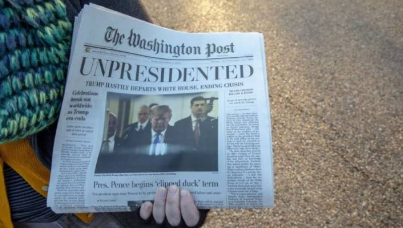 Donald Trump 'UNPRESIDENTED', claims Washington Post's newest 'edition'