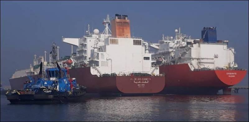 Two LNG vessels arrive at Port Qasim: Minister Ali Zaidi