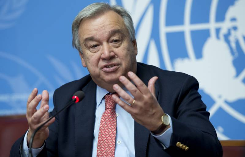 UN chief hopes for Pak, India meaningful dialogue