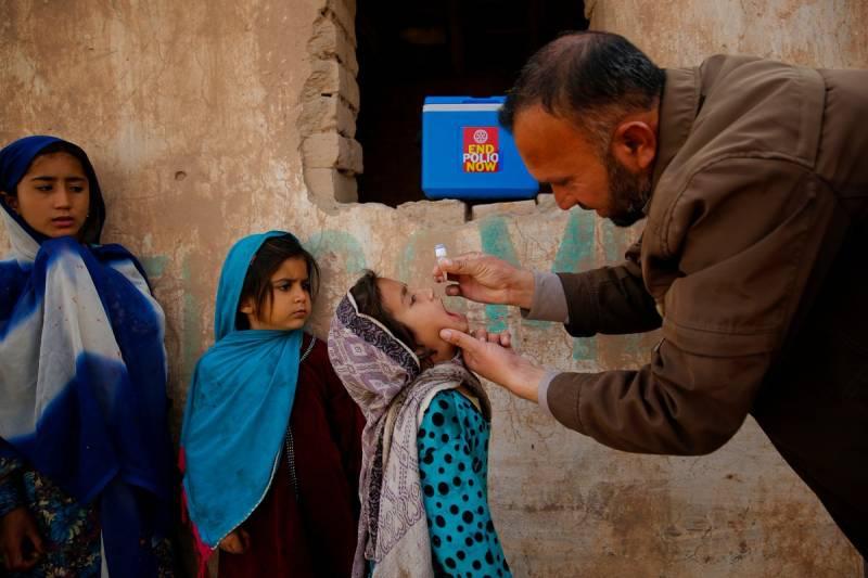 Pakistan kicks off three-day polio campaign