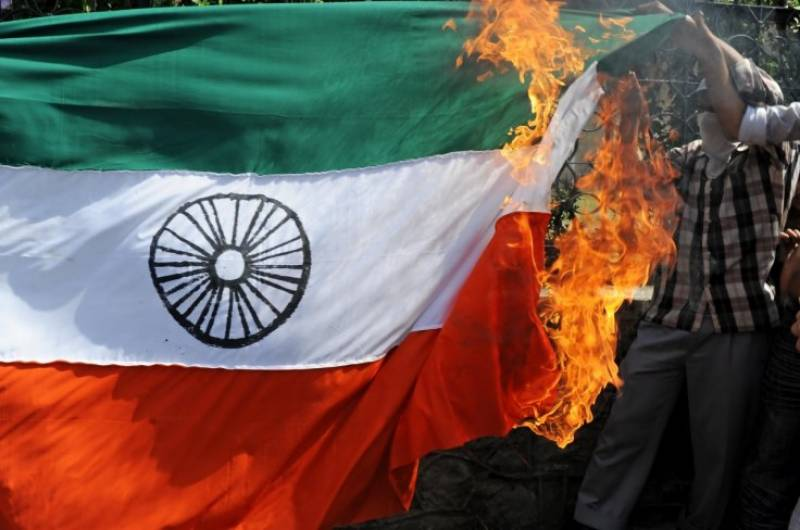 Sikhs call to burn Indian flags in protest against Indian atrocities