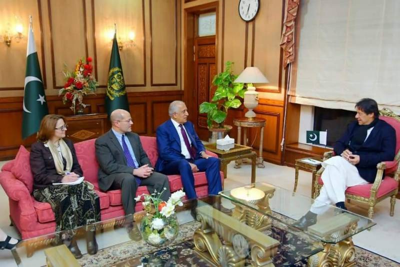 US special envoy lauds Pakistan's resolve for Afghan peace