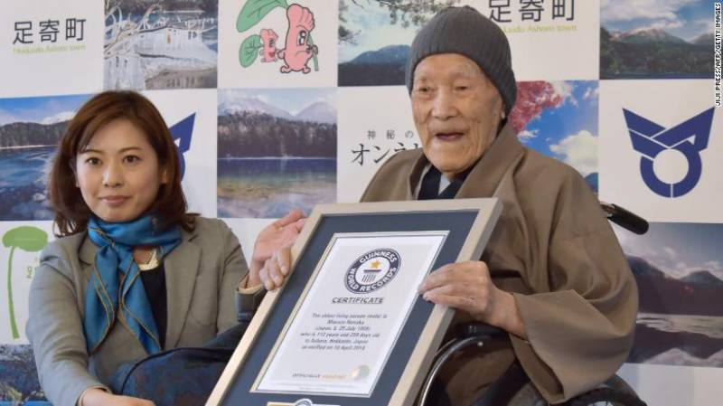 World's oldest man dies in Japan at age 113