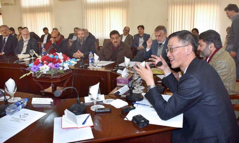 Western parts of Pakistan to be included in 2nd phase of CPEC: Chinese envoy