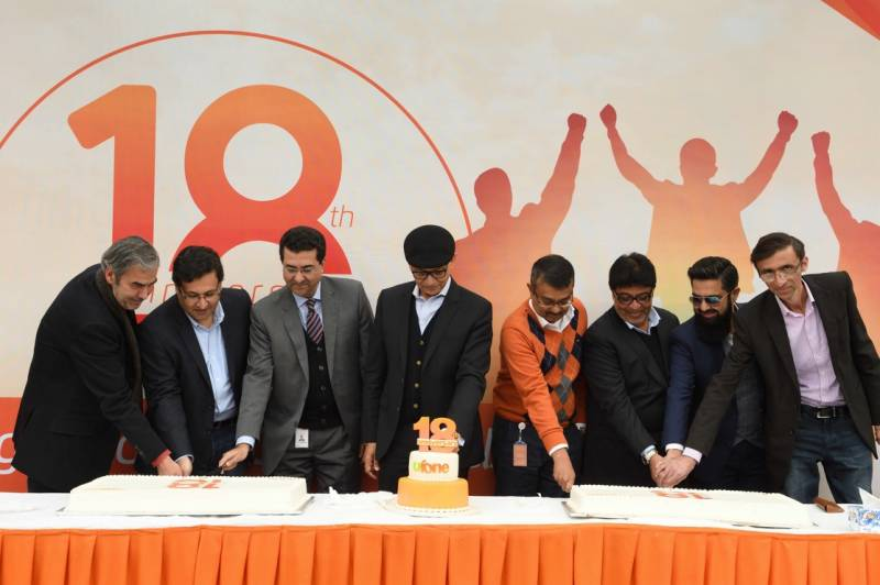 Ufone celebrates 18th anniversary across country