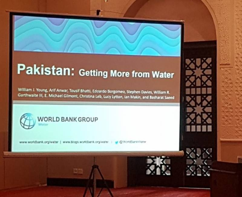 Pakistan's scarce water can bring more value to people and economy: World Bank