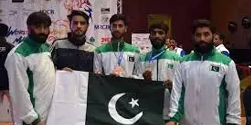 Pakistan wins 2 gold medals, 1 silver & 2 bronze in 7th International Fujairah Taekwondo Open