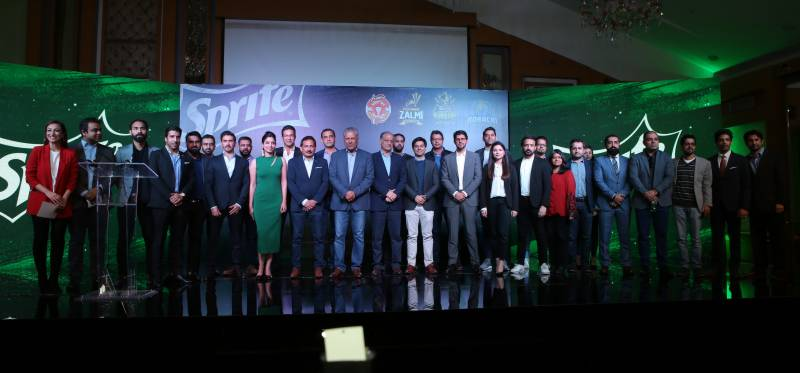 Sprite announces partnership with 4 teams for Pakistan Super League 2019