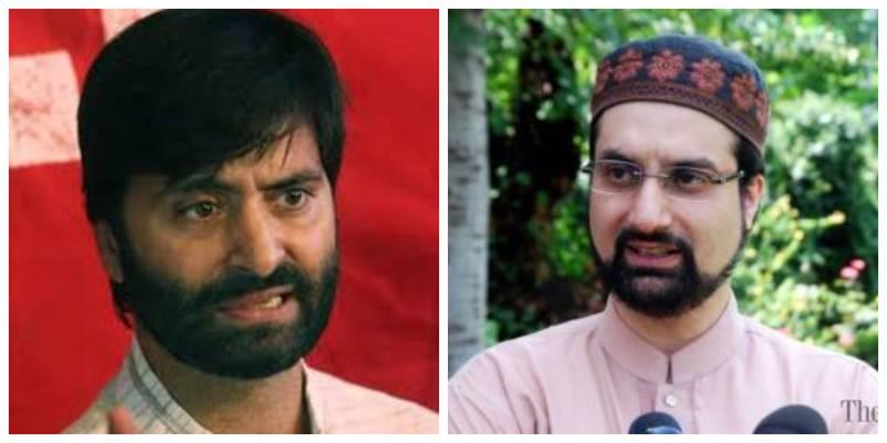 Mirwaiz, Yasin Malik thank Pakistan for supporting Kashmir cause
