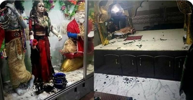 PM Imran orders swift action over Sindh Hindu temple vandalism