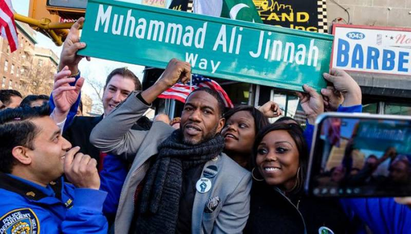 Muhammad Ali Jinnah Way inaugurated in New York