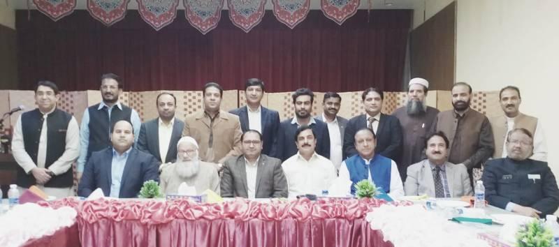 PML-N Riyadh greets newly-elected Pak Media Forum body