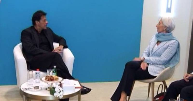 'IMF stands ready to support Pakistan,' says Cristine Lagarde after meeting PM Imran
