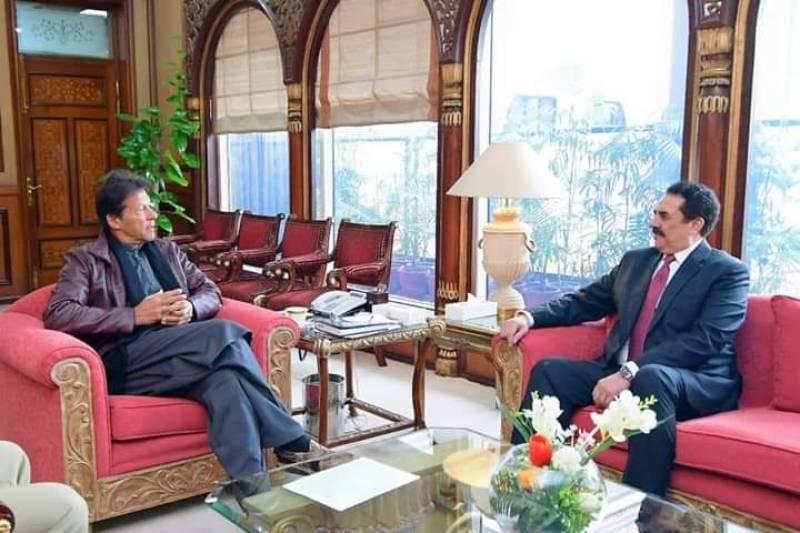 PM Imran, IMCTC Commander Raheel Sharif discuss regional peace, stability in Islamabad