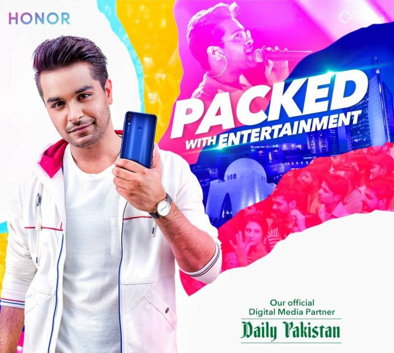 Honor partners with Daily Pakistan for 'Packed with Entertainment' concert tour