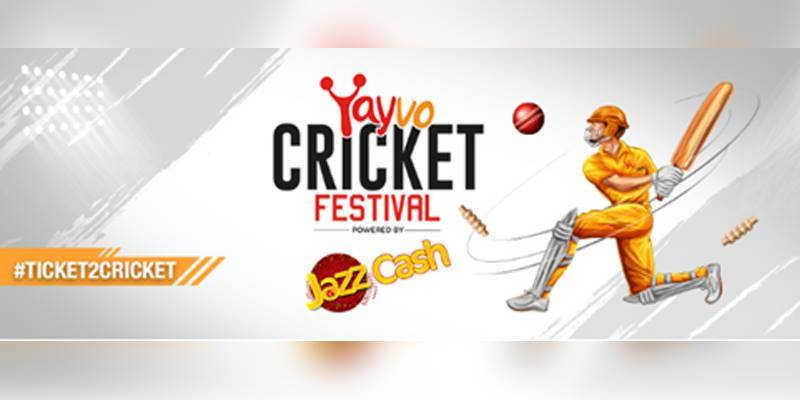 Yayvo Cricket Festival: Get your #Ticket2Cricket, merchandise and exclusive discounts with JazzCash