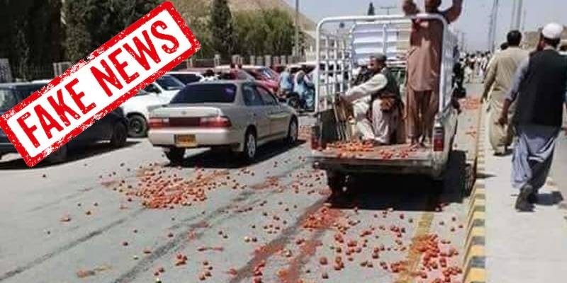 Fake News Alert! Pakistanis are NOT destroying 'Indian tomatoes' as alleged in viral video