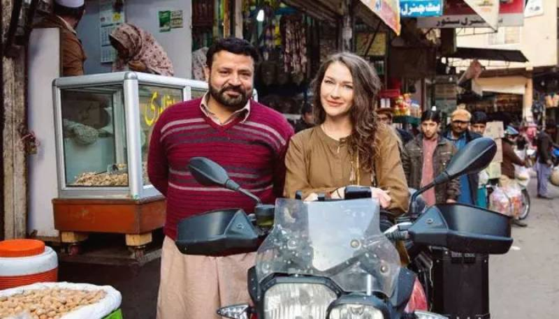 'Pakistan is an amazing and a safe country', Says Canadian motorcyclist Rosie Gabrielle