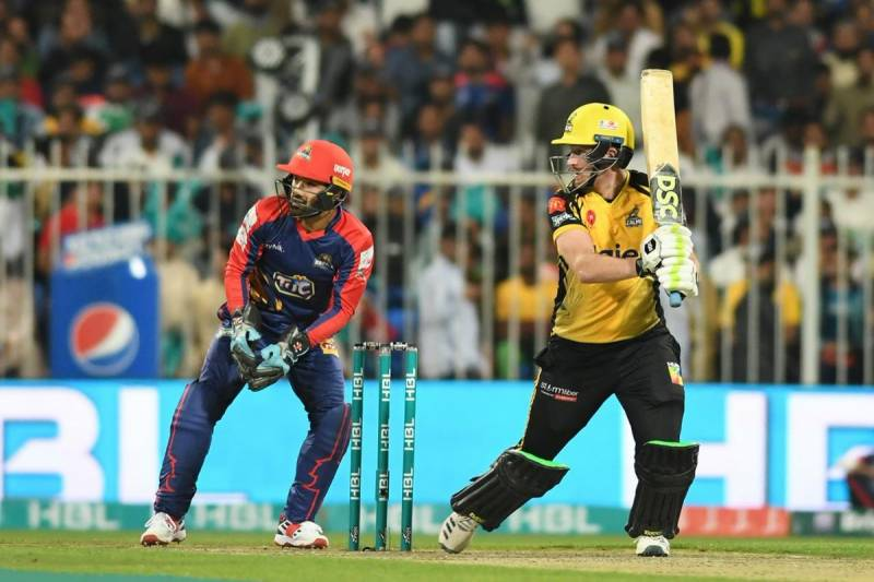 PSL4 9th Match: Peshawar Zalmi trounce Karachi Kings by 44 runs