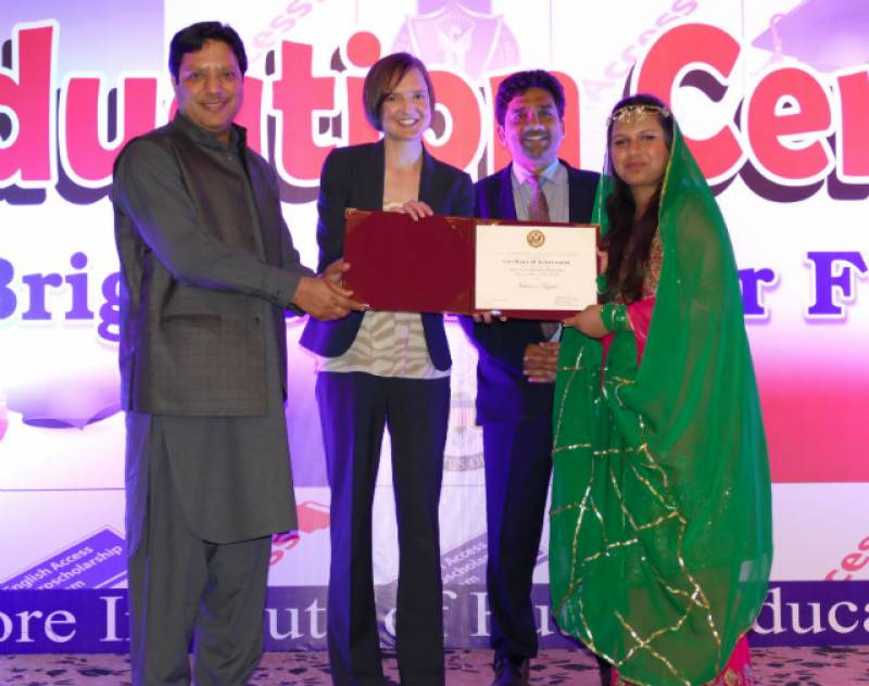 US Consul General celebrates education in Faisalabad