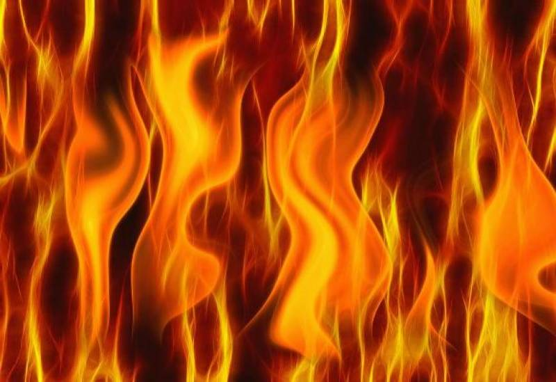Fire erupts at a private bank in Lahore
