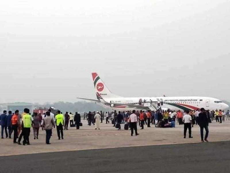 Man who attempted to hijack Bangladeshi plane killed
