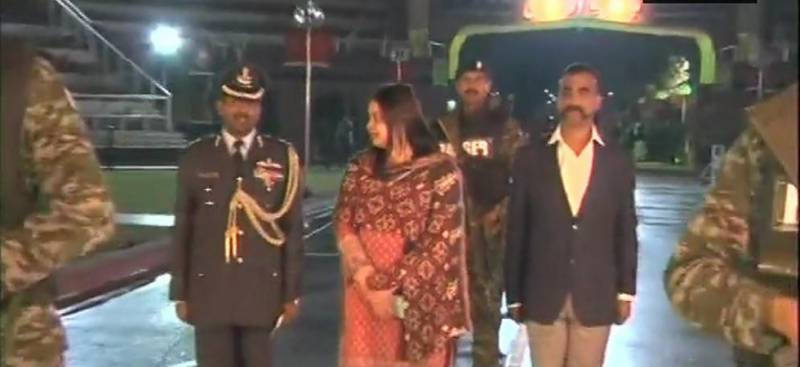 Dr Fareeha Bugti from Pakistan FO handed Abhinandan over to the Indian authorities