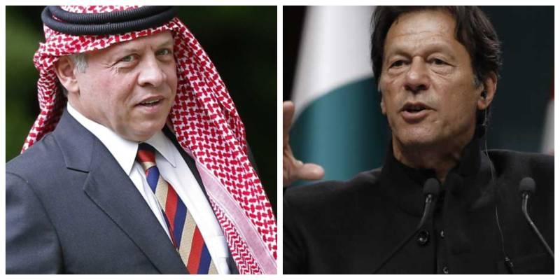 Jordan's King Abdullah calls PM Imran, offers mediation in Pakistan-India conflict