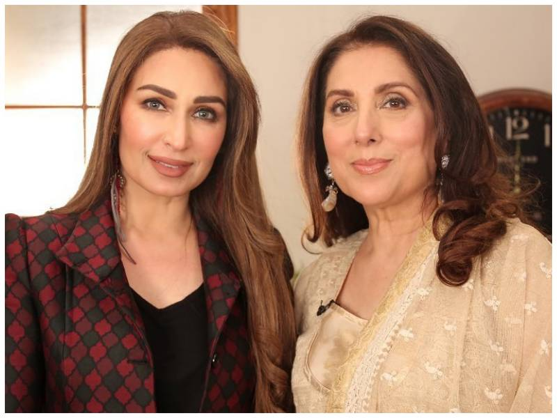 Reema Khan gets very candid and personal with Samina Peerzada