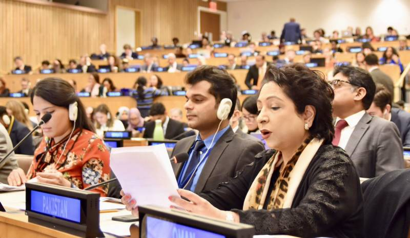 World community at UN wants de-escalation of tensions, says Maleeha Lodhi envoy