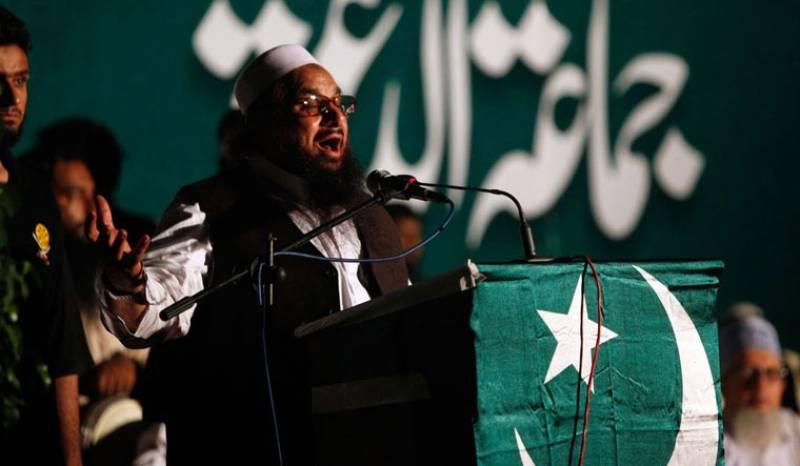 Pakistan formally places ban on Hafiz Saeed's JuD, FIF