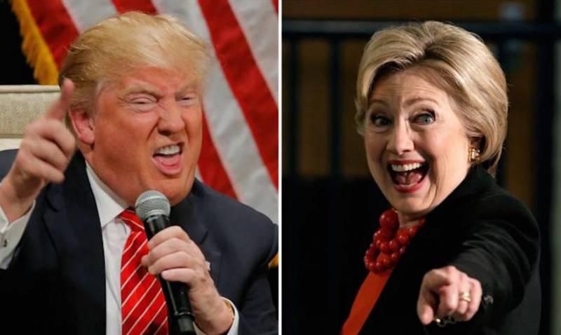 Here's how Hillary Clinton reacted to Donald Trump's mocking tweet