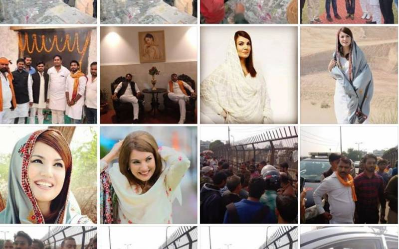 Indian man who beat up Kashmiri vendor is obsessed with Reham Khan