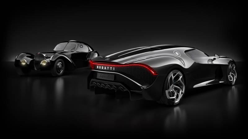 Bugatti's La Voiture Noire is the
