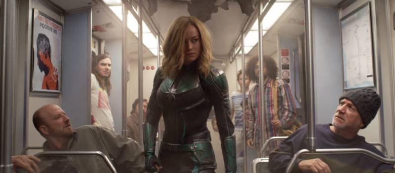 'Captain Marvel' rockets to historic $153 million debut
