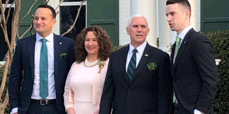 Irish prime minister brings his boyfriend to meet Mike Pence