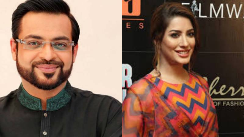 Aamir Liaquat accuses Mehwish Hayat of defaming him in 'Load Wedding'