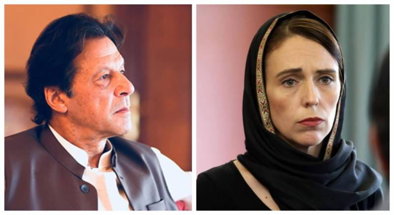 Imran Khan telephones New Zealand PM to condemn terrorist attack on mosques; invites her to visit Pakistan