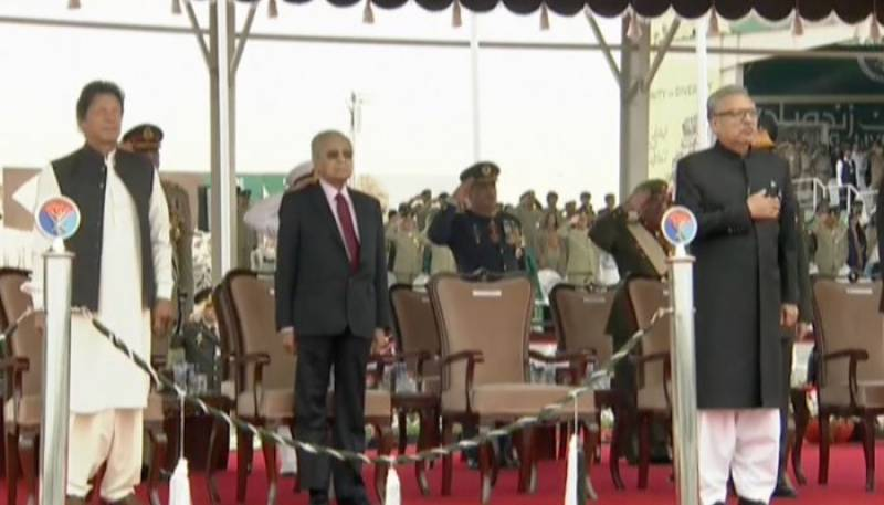 Nation observes military might displayed at 79th Pakistan Day Parade in Islamabad