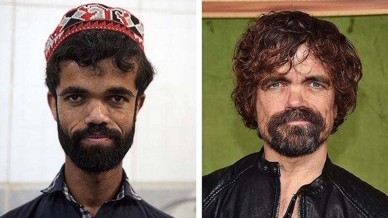 Pakistani restaurant waiter gains fame as 'Game of Thrones' doppelganger
