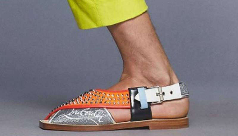 Christian Louboutin removed 'Imran sandals' from their website and we wonder why