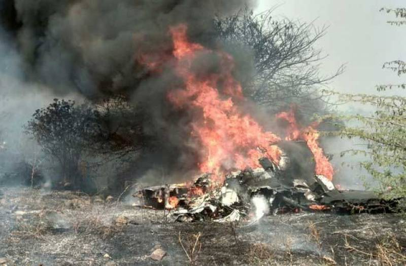 Another Indian fighter jet crashes in Rajasthan