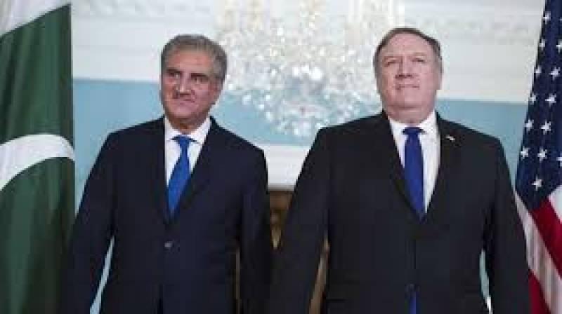 FM Qureshi, Mike Pompeo discuss Afghan peace process ahead of Khalilzad's visit