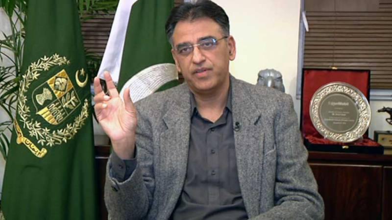 Asad Umar says economic crisis over, vows growth after stabilization