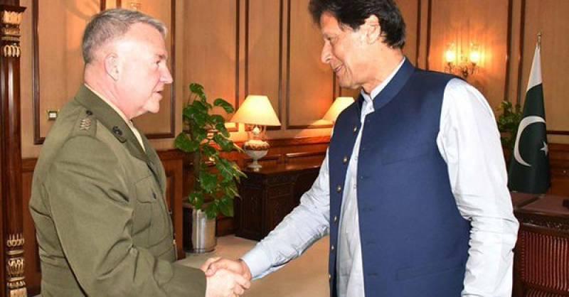 CENTCOM Commander calls on PM Imran Khan to discuss Pakistan-US ties, Afghan peace