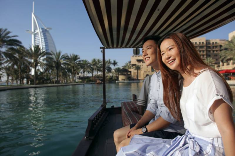 China becomes Dubai's fourth largest tourists source market