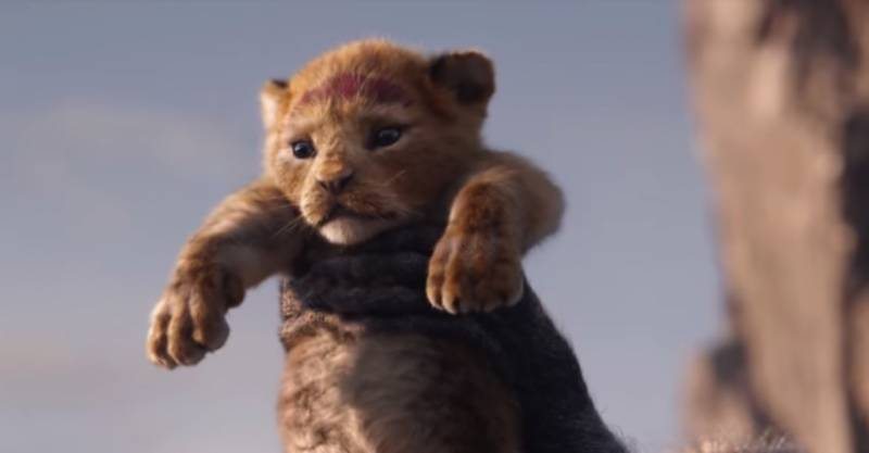 Disney releases live-action trailer for 'The Lion King'