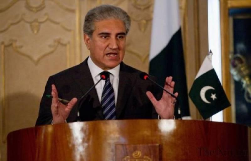 FM Qureshi shuts down rumors of Israeli pilot's arrest amid Pakistan-India tensions over Kashmir