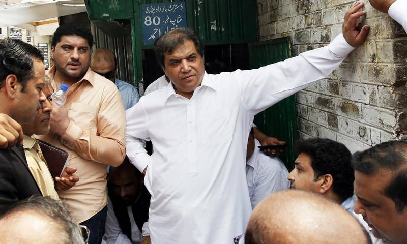 LHC sets PML-N's Hanif Abbasi free on bail in ephedrine quota case
