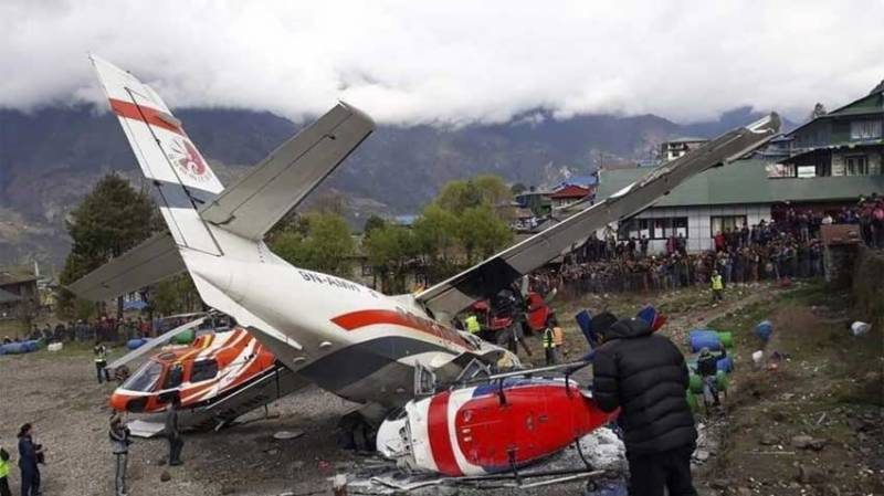 At least 3 killed in plane-helicopter collision near Mount Everest